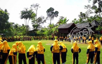 Outbound Gunung Bale Resort Trawas